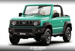 Así luce el nuevo Suzuki Jimny 2019 con carrocería convertible