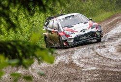 Toyota comienza los test previos al Rally de Finlandia