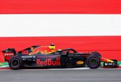 """Verstappen: """"Perdemos bastante tiempo en las rectas"""""""