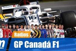 [Vídeo] La radio de los pilotos en el GP de Canadá de F1 2018