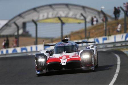Alonso lidera el 'Test Day' de las 24 Horas de Le Mans