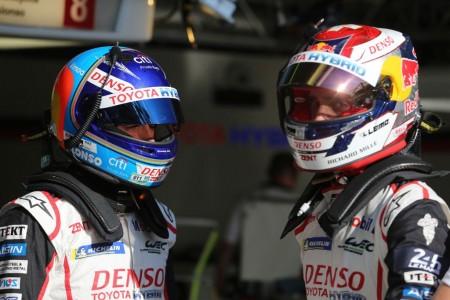 Satisfechos en Toyota con el nivel del TS050 Hybrid en Le Mans