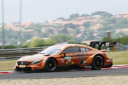 Pole de Auer en Hungaroring con repóker de Mercedes