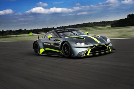 Primeras imágenes del nuevo Aston Martin Vantage GT3