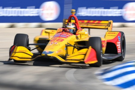 Ryan Hunter-Reay pone fin en Detroit a su larga sequía