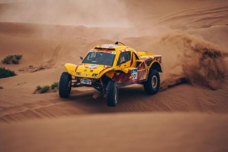El Silk Way Rally 2018 se divide en dos pruebas