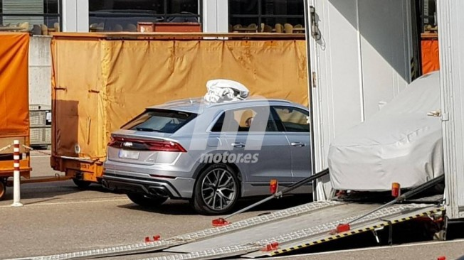 Audi SQ8 2019 - foto espía