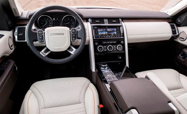 Land Rover Discovery 2019 - interior