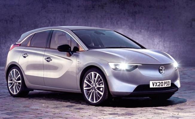 Opel eCorsa - recreación