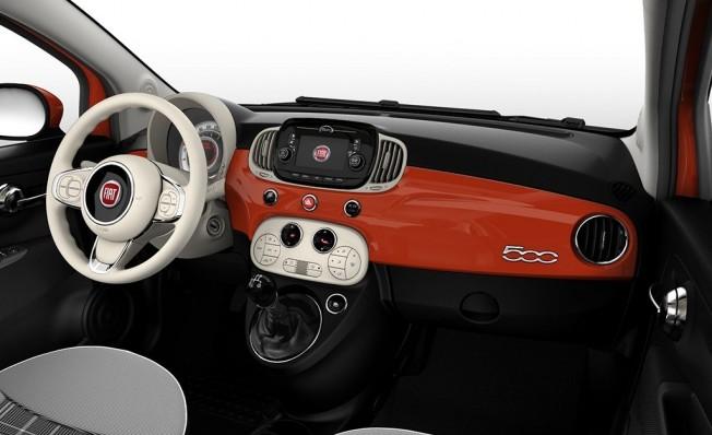 Fiat 500 Special Series - interior