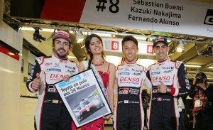 """Nakajima tras su pole: """"La clasificación es sólo el uno por ciento"""""""
