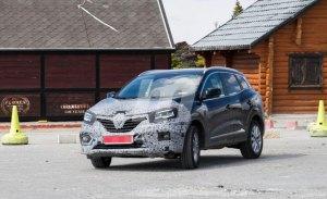 El Renault Kadjar continúa con su fase de pruebas dejando ver más detalles