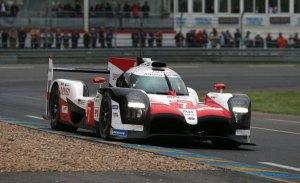 Toyota firma un aplastante doblete en el warm up de Le Mans