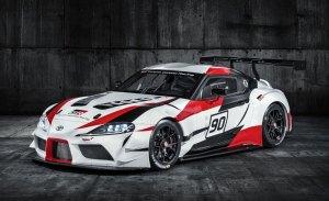 El nuevo Toyota Supra reemplazará al Camry en la NASCAR