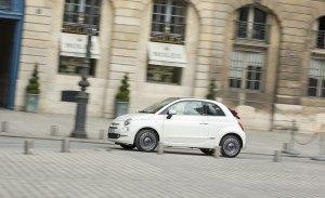 España - Mayo 2018: Un Fiat 500 de récord