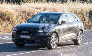 El nuevo Audi Q3 cazado prácticamente al desnudo