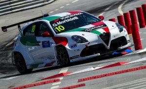 Bajan a Gianni Morbidelli del Alfa Romeo Giulietta TCR