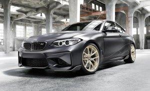 BMW aligera el M2 y lo equipa con los accesorios M Performance