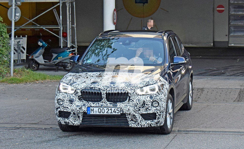 2019 - [BMW] X1 restylé [F48 LCI] Bmw-x1-2019-fotos-espia-201848069_2