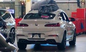 El nuevo BMW X4 M 2019 cazado al desnudo por primera vez
