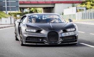 Bugatti Divo: un misterioso ejemplar del Chiron avistado en Nürburgring