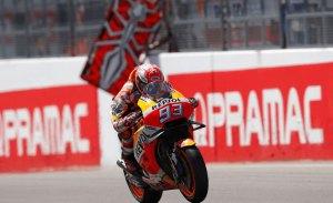 Noveno triunfo seguido de 'Sachsen-king' Márquez en Alemania