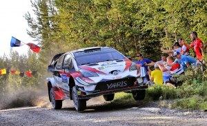 Duelo entre Tänak y Ostberg al inicio del Rally de Finlandia