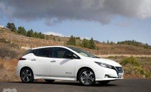 El Nissan Leaf aumentará su potencia hasta 160 kW y la autonomía a 362 kms desde finales de año