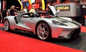 Ford toma medidas legales por la subasta del Ford GT 2017 de Mecum Auctions