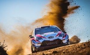 Toyota, sponsor oficial del Rally RACC de Catalunya 2018