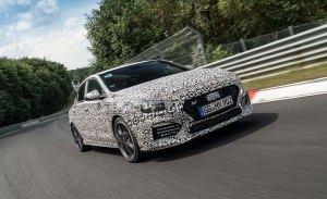 El nuevo Hyundai i30 Fastback N será presentado a finales de año