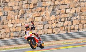 Marc Márquez tendrá su propia curva en MotorLand Aragón