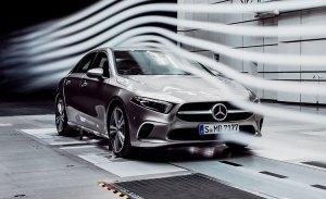 Mercedes destaca la trabajada aerodinámica del nuevo Clase A Sedán
