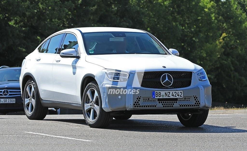 2018 - [Mercedes-Benz] GLC/GLC Coupé restylés Mercedes-clase-glc-coupe-2019-fotos-espia-201848001_2