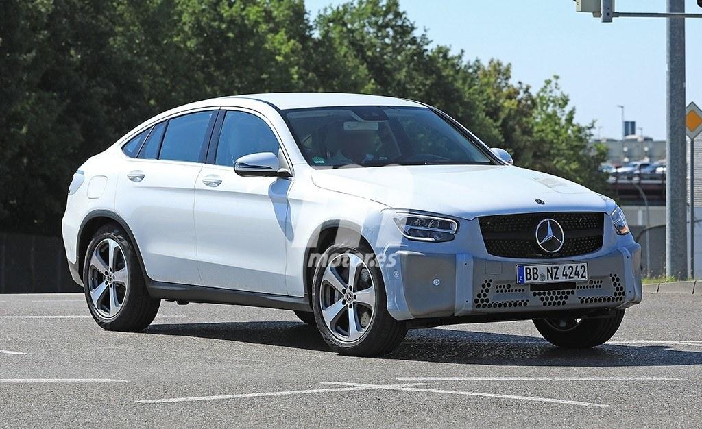 2018 - [Mercedes-Benz] GLC/GLC Coupé restylés Mercedes-clase-glc-coupe-2019-fotos-espia-201848001_3