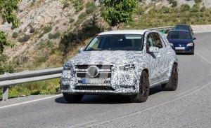 El nuevo Mercedes-AMG GLE 55 4MATIC cazado en España