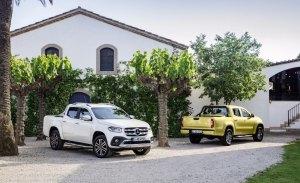 Mercedes valora lanzar una versión del Clase X con motor V8
