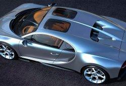 El Bugatti Chiron estrena versión Sky View con techo de cristal