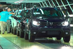 Dacia aumenta su producción un 3,2% gracias al tirón del nuevo Duster