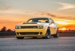 El Dodge Demon Hennessey HPE1000 exprimiendo sus 1.070 CV en circuito