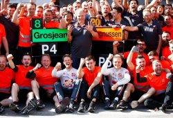 Haas supera a McLaren y amenaza a Renault en el mundial de constructores