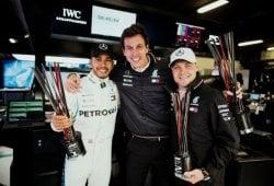 Hamilton y Bottas se quedan en Mercedes