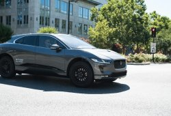 Google recibe los primeros Jaguar I-Pace para el proyecto Waymo