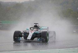 "La lluvia da la pole a Mercedes: ""No nos lo esperábamos"""