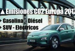 Un informe del ICCT señala que los fabricantes incumplieron con las emisiones promedio de CO2 en 2017
