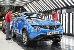 El Nissan Juke número un millón sale de la línea de producción de Sunderland