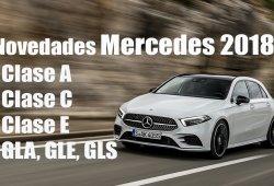 Novedades en los Mercedes Clase A, Clase C, Clase E, GLA, GLE Coupé y GLS para la segunda mitad de 2018