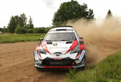 Ott Tänak se adjudica el Rally de Estonia con el Yaris WRC