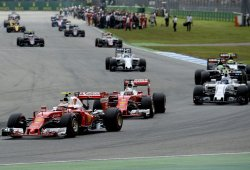 Con Gasly y Ricciardo sancionados, así queda la parrilla de Hockenheim
