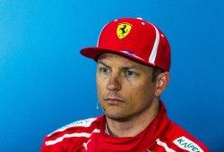 """Räikkönen considera justa la penalización tras golpear a Hamilton: """"Fue mi error"""""""